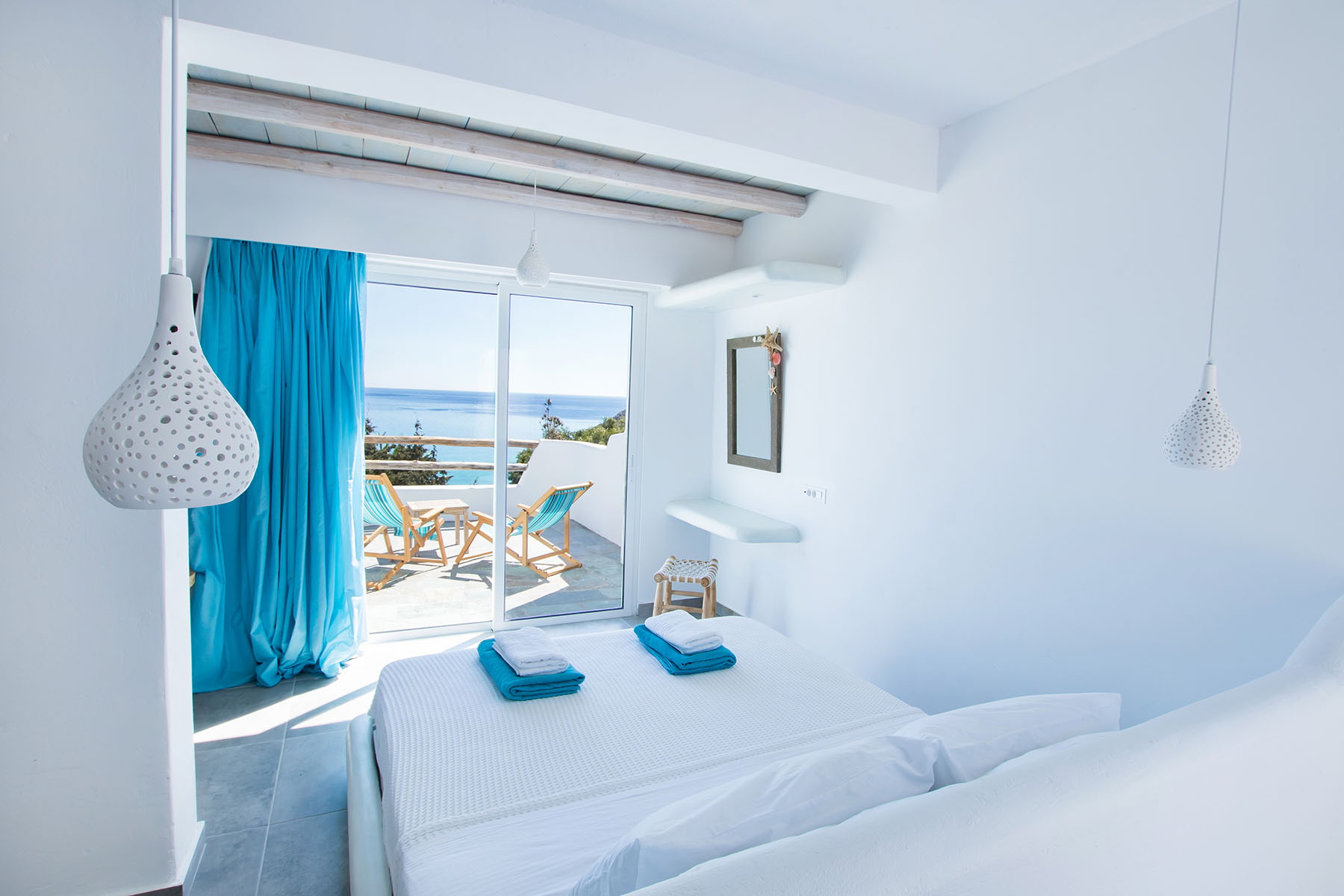 karpathos accommodation - Poseidon Blue Gastronomy Hotel