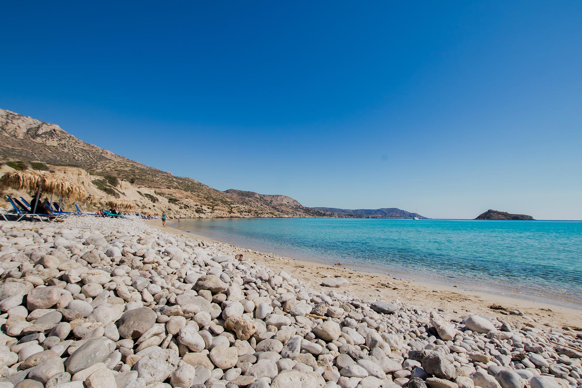 beaches in karpathos - Poseidon Blue Gastronomy Hotel