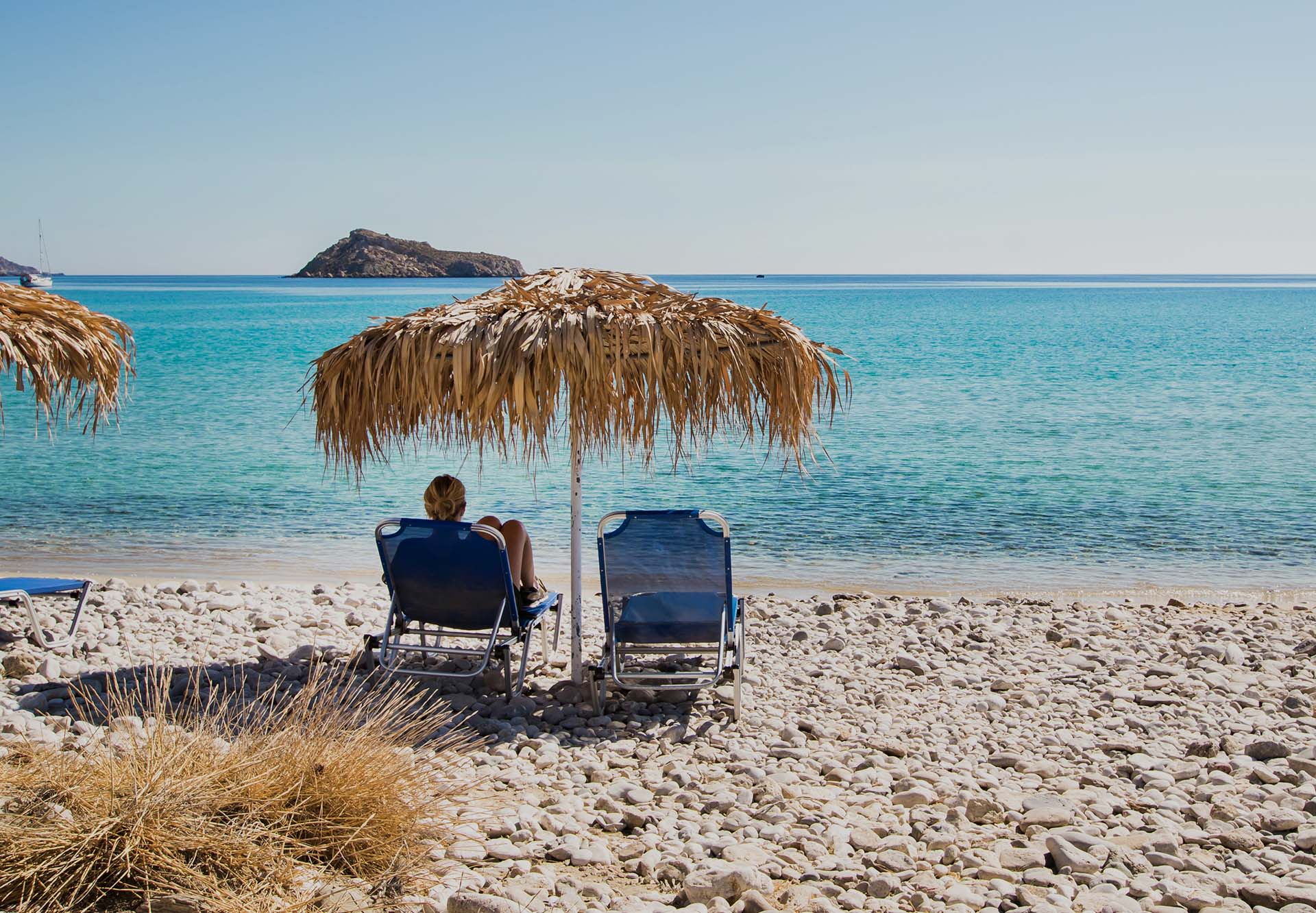 karpathos beaches - Poseidon Blue Gastronomy Hotel